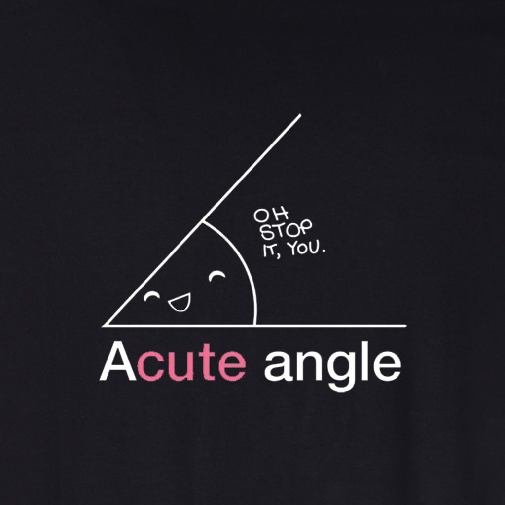 Oh! Stop it, You Acute (F) - BLACK