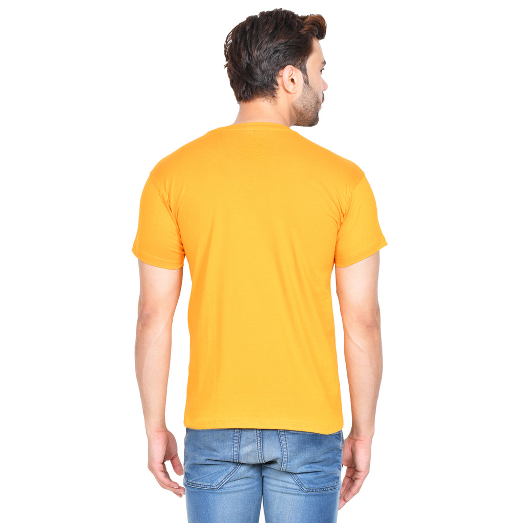 There is a fine line (M) - Mustard Yellow