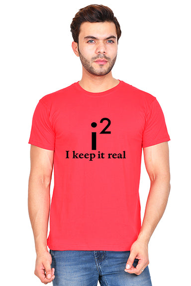 I Keep it Real (M) - Red