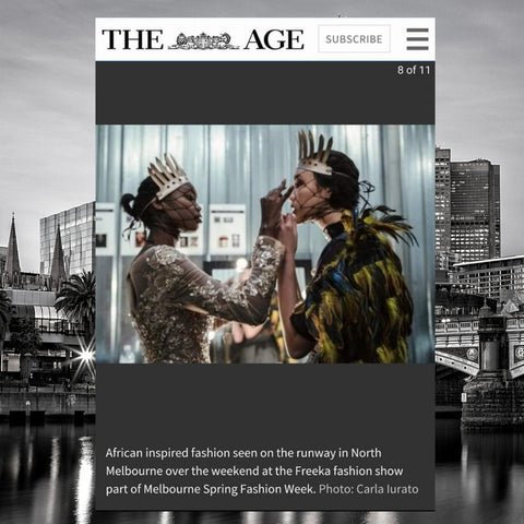 The Age Melbourne Spring Fashion Week Nwaoma Australia