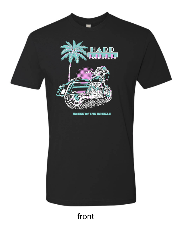 HR MIAMI VICE / KNEES IN THE BREEZE TEE