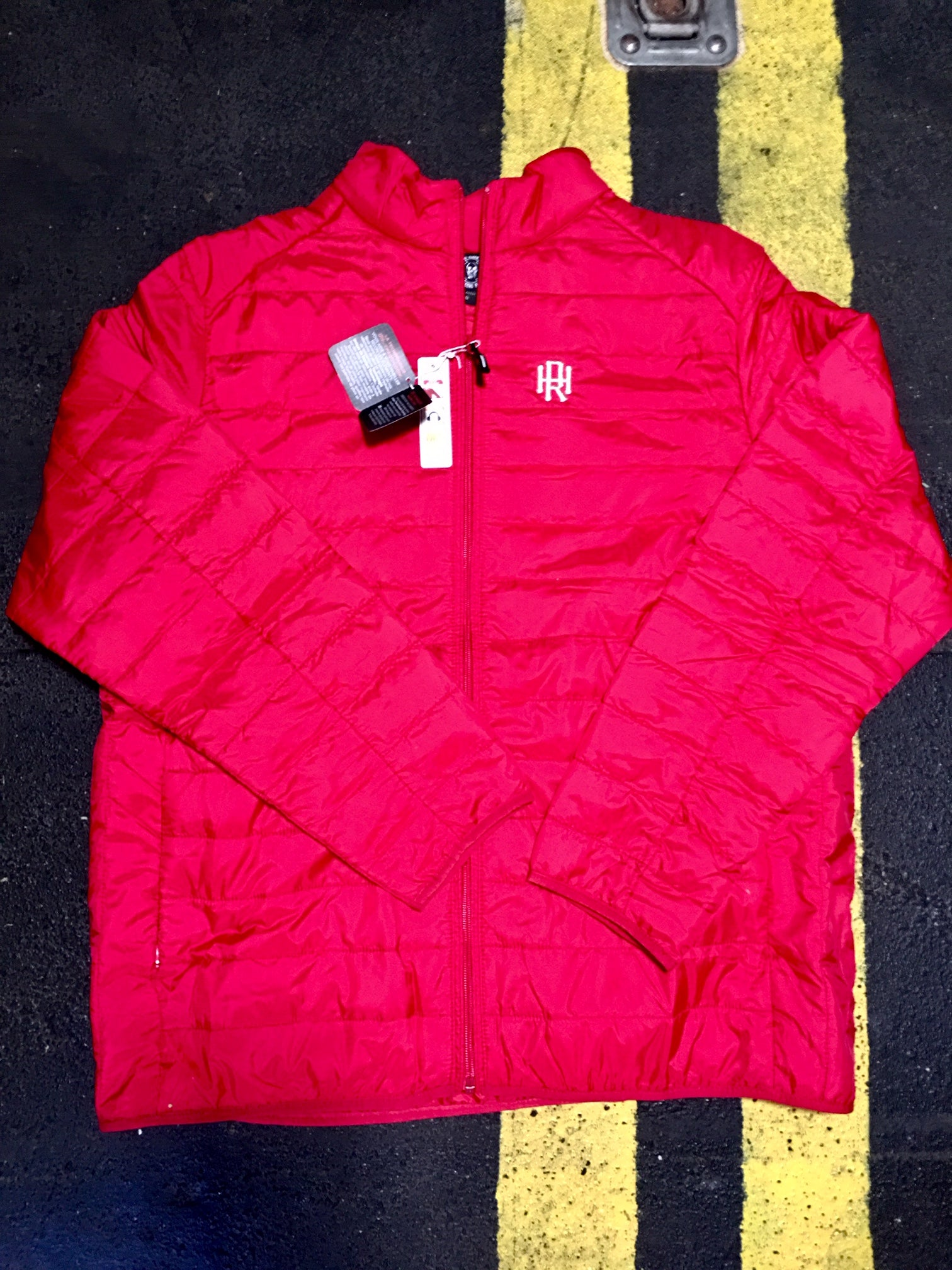 Mens down packable jacket