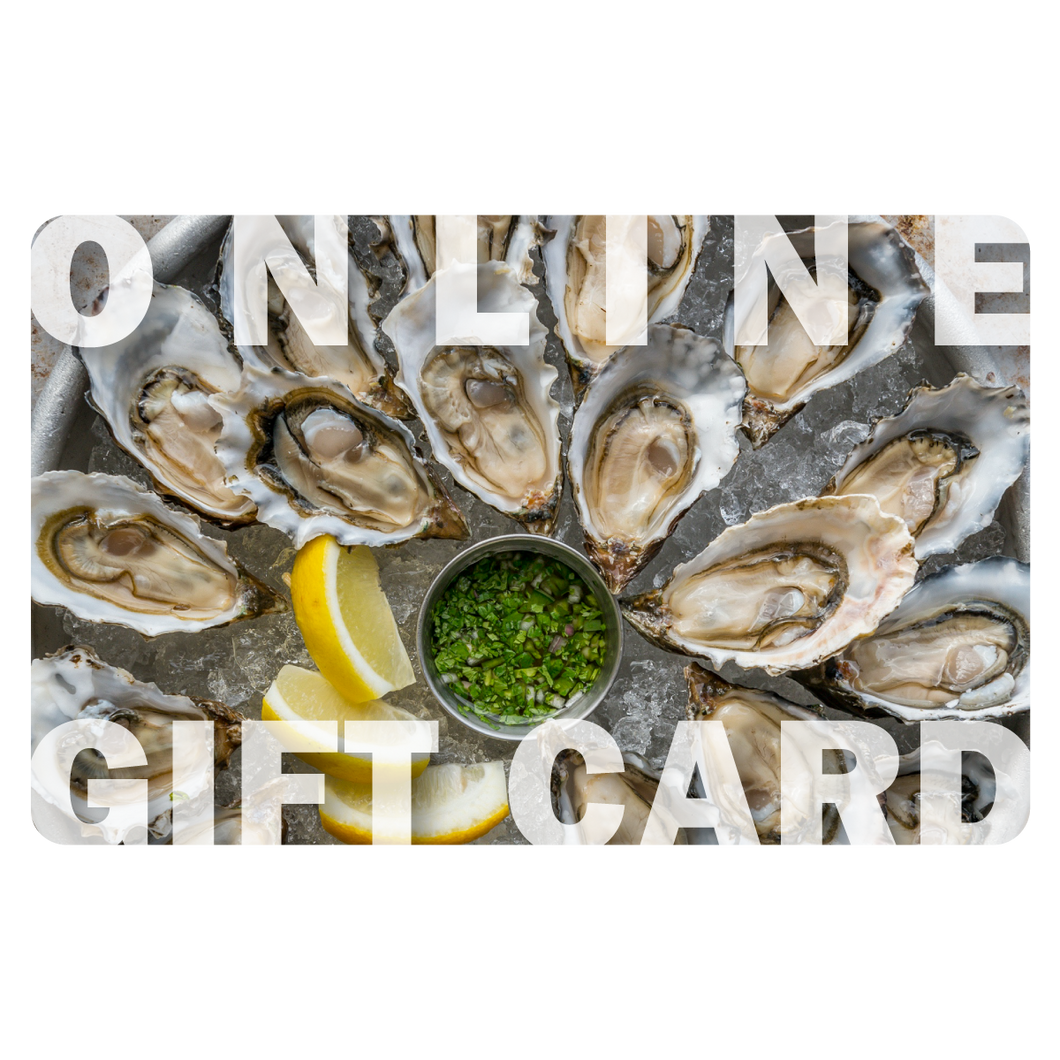 Digital Gift Card (ONLINE USE ONLY)