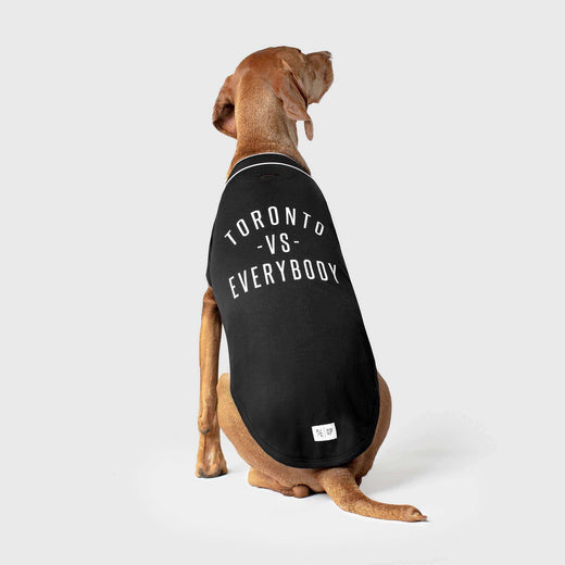 Toronto vs Everybody Dog Jersey, Canada Pooch Dog Jersey