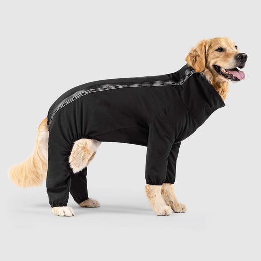 Dog Slush Suit in Black, Canada Pooch Dog Full Body Coat