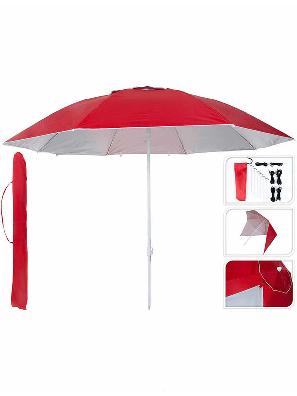 Pure UV Shelter red dia 240cm8ribs