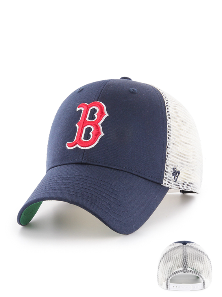 47 CASQUETTE MLB BOSTON RED SOX BRANSON MVP BLEU MARINE