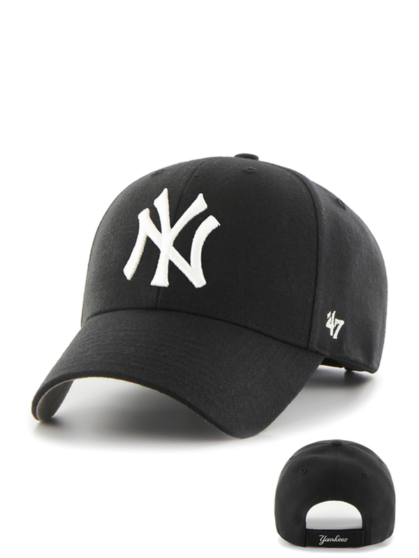 47 CASQUETTE MLB NEW YORK YANKEES MVP YOUTH NOIR
