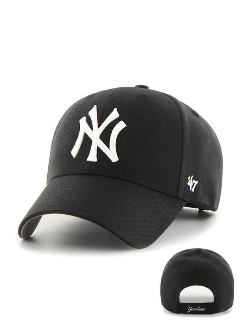 47 CASQUETTE MLB NEW YORK YANKEES MVP NOIR