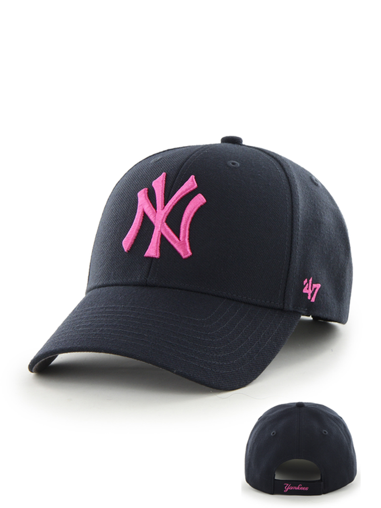 47 CASQUETTE MLB NEW YORK YANKEES MVP BLEU MARINE