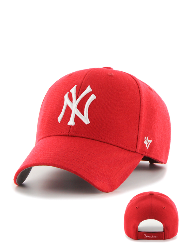 47 CASQUETTE MLB NEW YORK YANKEES MVP ROUGE