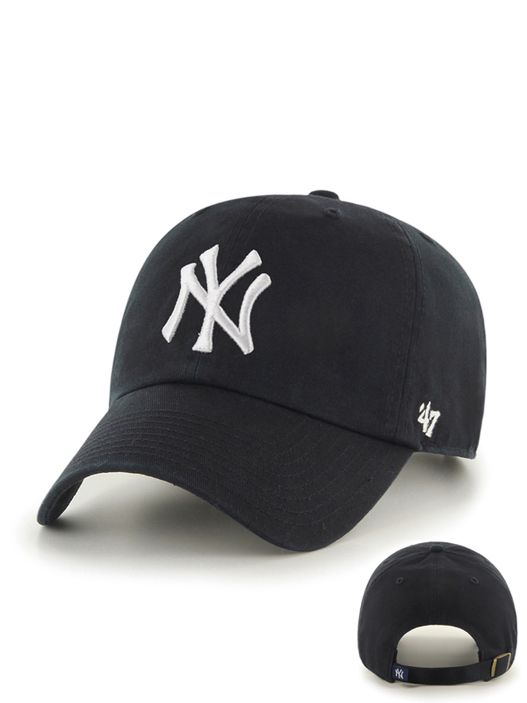 47 CASQUETTE MLB NEW YORK YANKEES CLEAN UP NOIR