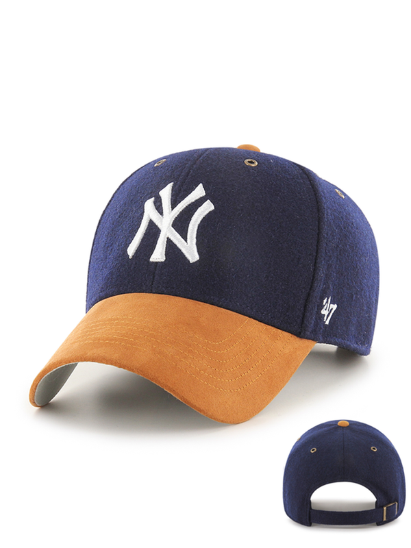47 CASQUETTE MLB NEW YORK YANKEES WILLOWBROOK MVP BLEU MARINE
