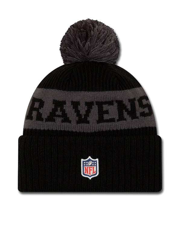 BONNET Baltimore Ravens - New Era 2020 Sideline Home