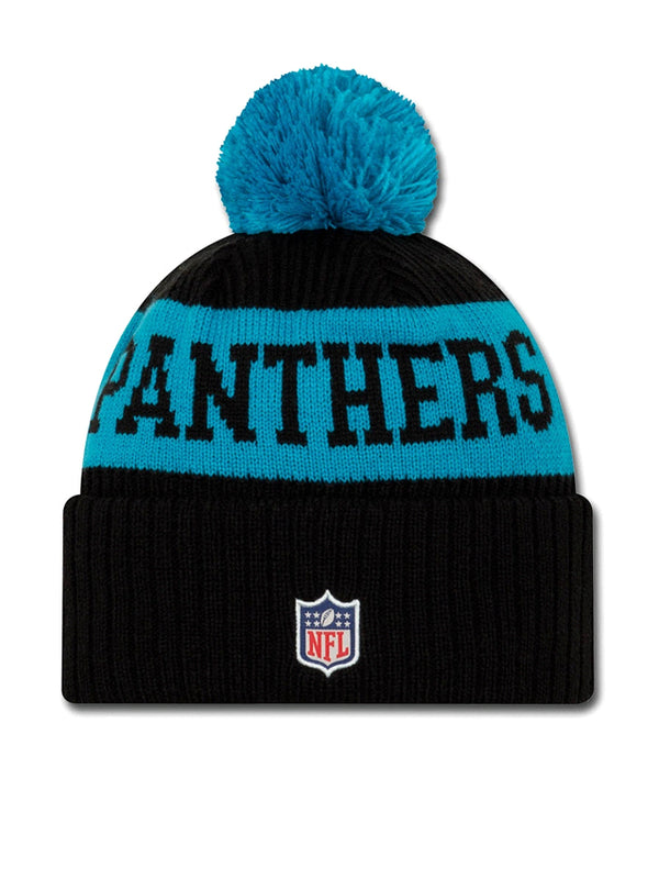 BONNET Carolina Panthers - New Era 2020 Sideline Home