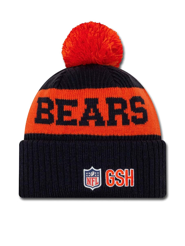 BONNET Chicago Bears - New Era 2020 Sideline Home