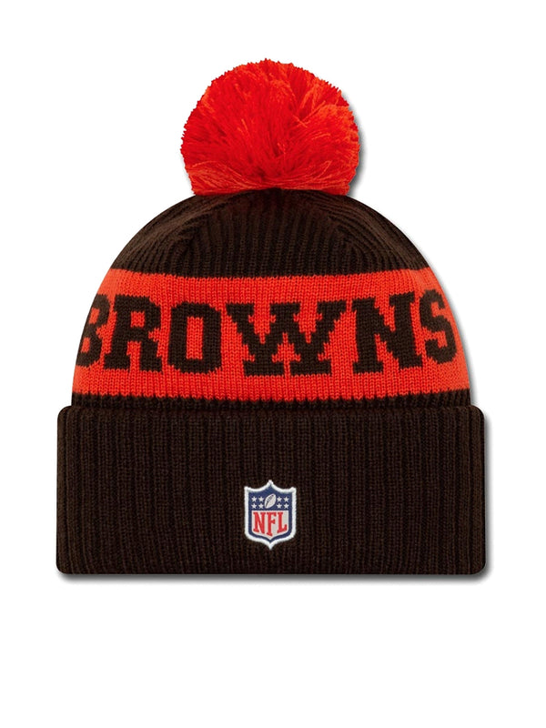 BONNET Cleveland Browns - New Era 2020 Sideline Home