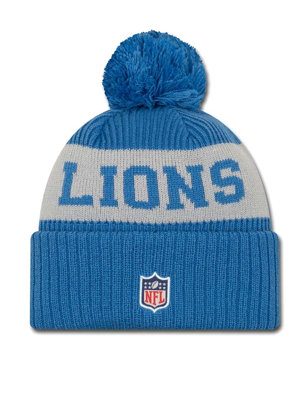 BONNET Detroit Lions - New Era 2020 Sideline Home