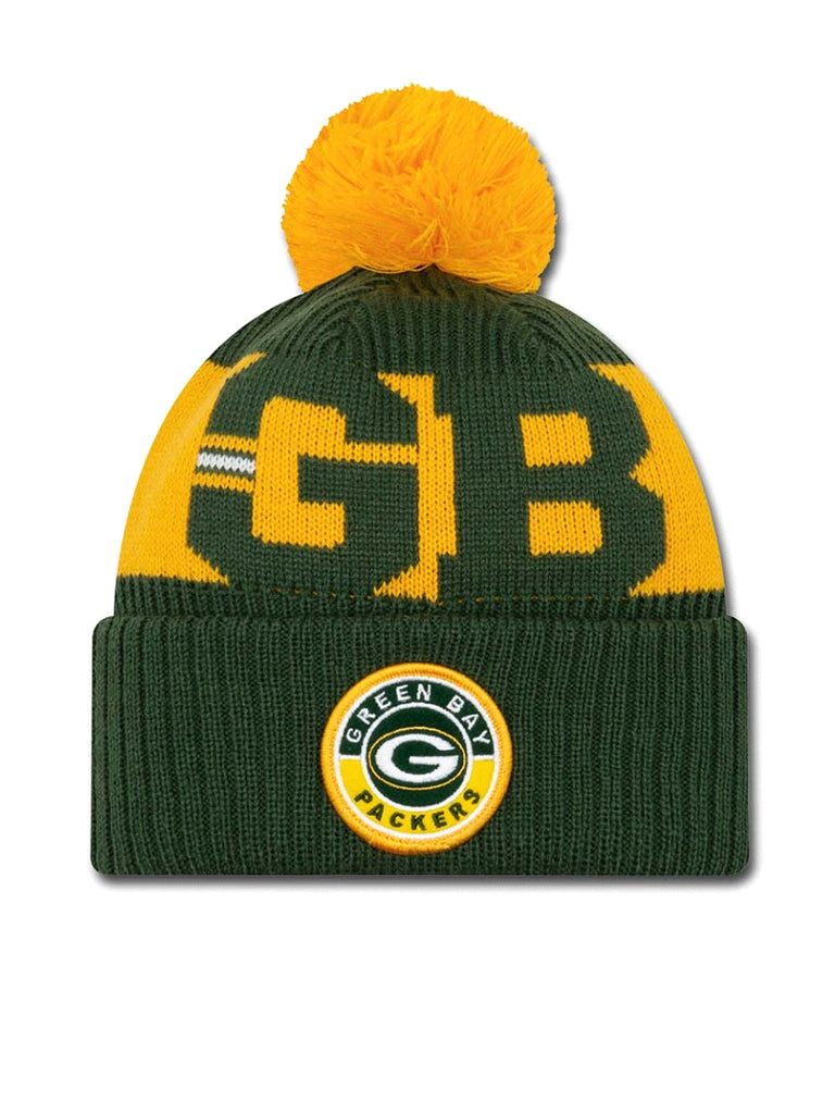 BONNET Green Bay Packers - New Era 2020 Sideline Home