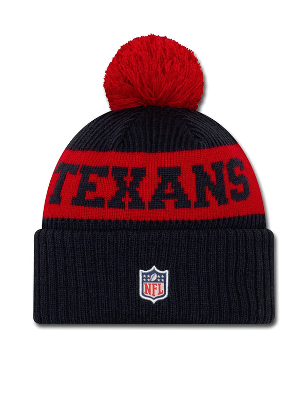 BONNET Houston Texans - New Era 2020 Sideline Home