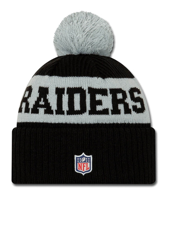 BONNET Las Vegas Raiders - New Era 2020 Sideline