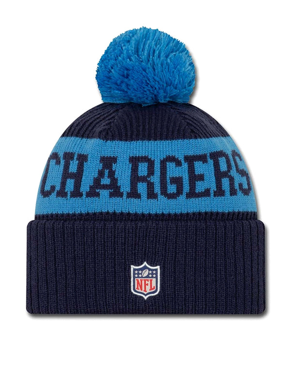 BONNET Los Angeles Chargers - New Era 2020 Sideline Home