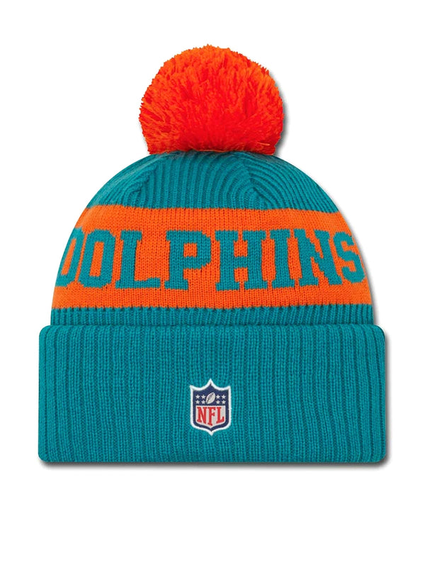 BONNET Miami Dolphins - New Era 2020 Sideline Home