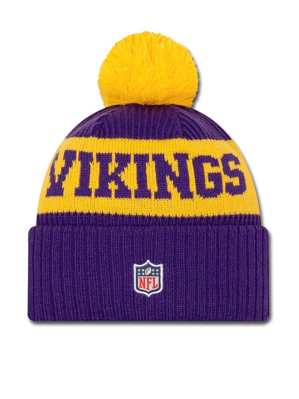 BONNET Minnesota Vikings - New Era 2020 Sideline Home