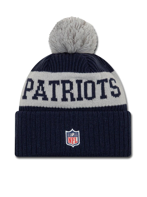 BONNET New England Patriots - New Era 2020 Sideline Home