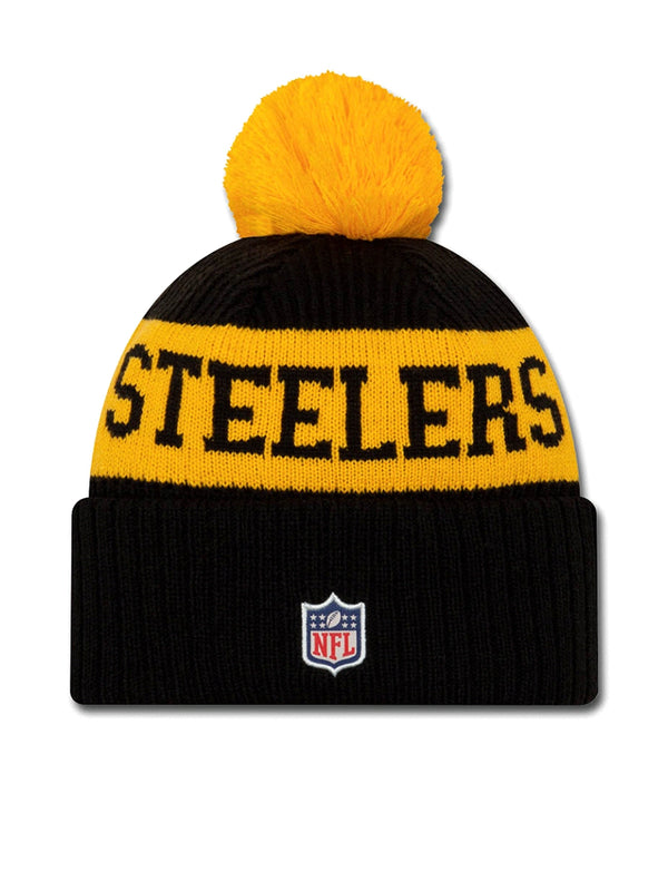 BONNET Pittsburgh Steelers - New Era 2020 Sideline Home