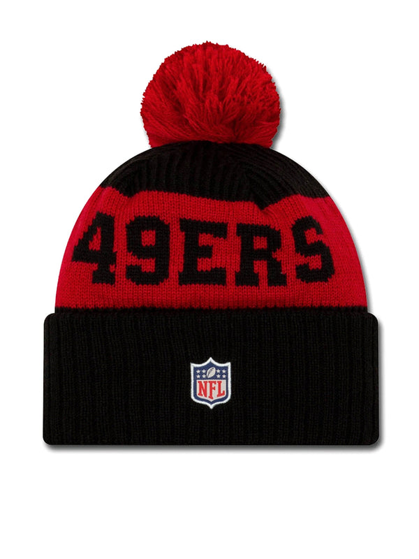 BONNET San Francisco 49ers - New Era 2020 Sideline Home