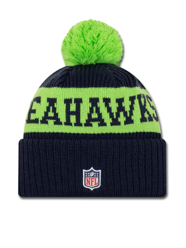 BONNET Seattle Seahawks - New Era 2020 Sideline Home