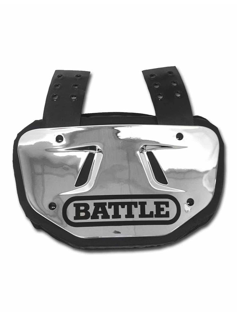 Battle Back Plate chrome