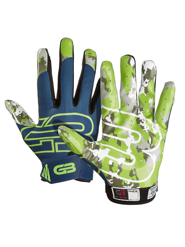 Gants de Football Pro Elite Grip Boost Stealth