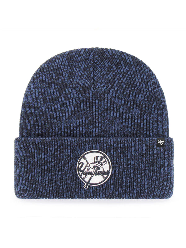 47 BONNET MLB NEW YORK YANKEES BRAIN FREEZE CUFF KNIT NAVY