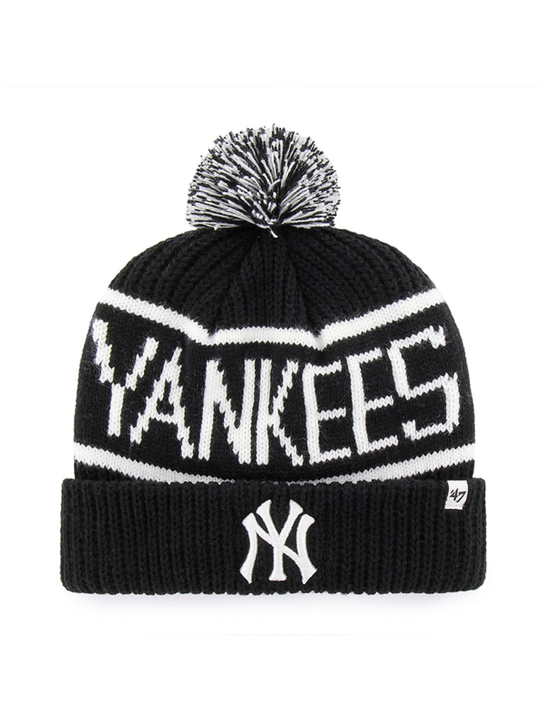 47 BONNET MLB NEW YORK YANKEES CALGARY CUFF KNIT NOIR