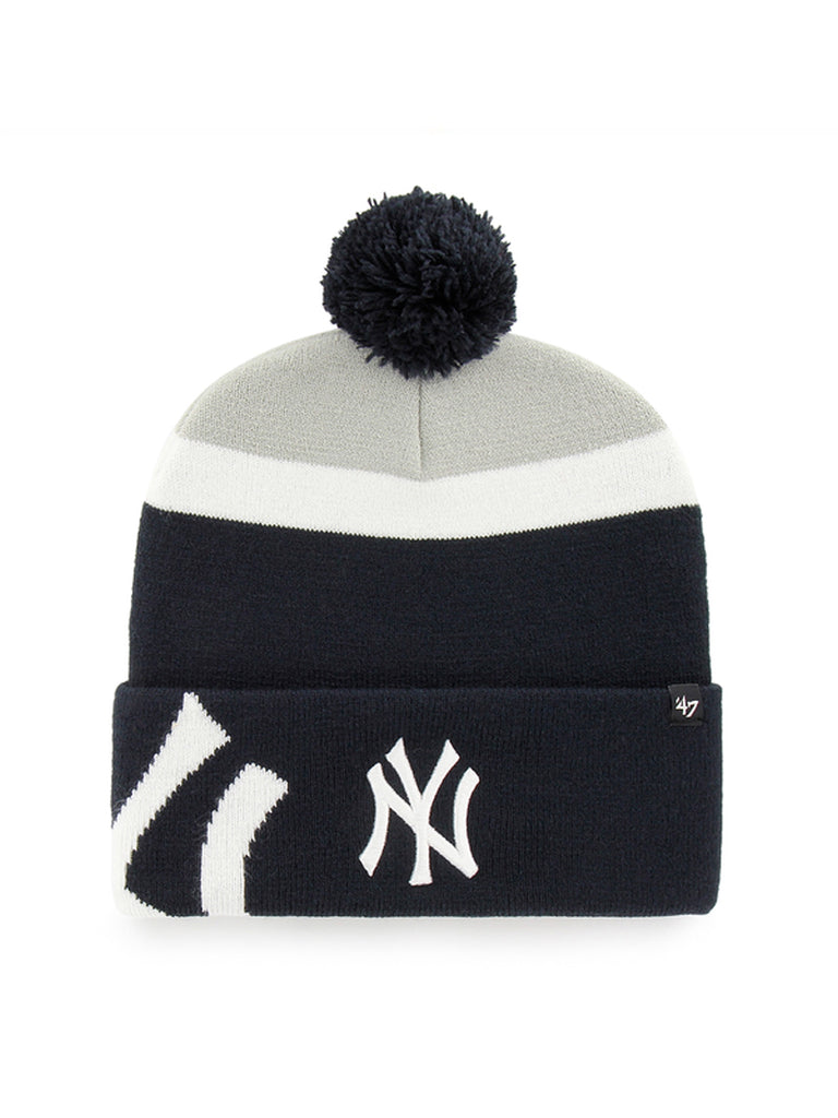 47 BONNET MLB NEW YORK YANKEES MOKEMA CUFF KNIT NAVY