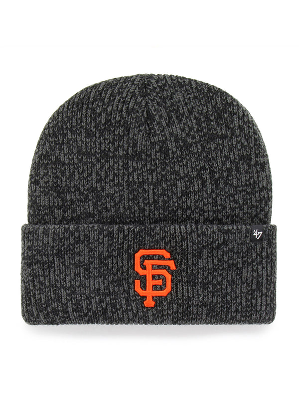 47 BONNET MLB SAN FRANCISCO GIANTS BRAIN FREEZ CUFKNIT NOIR