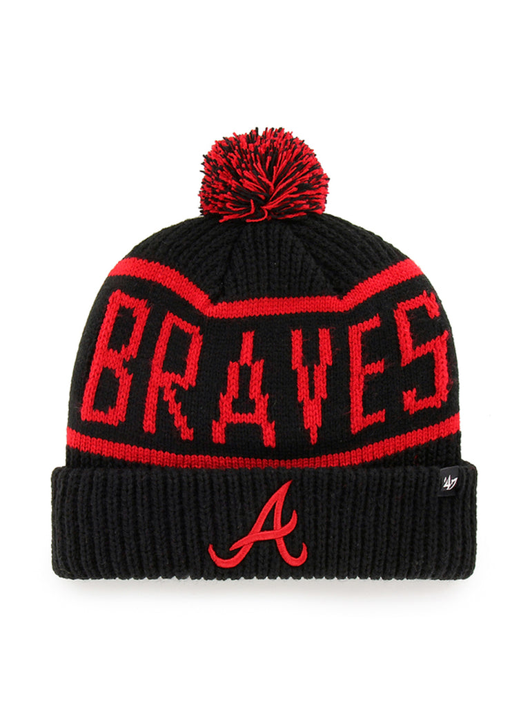 47 BONNET MLB ATLANTA BRAVES CALGARY CUFF KNIT NOIR