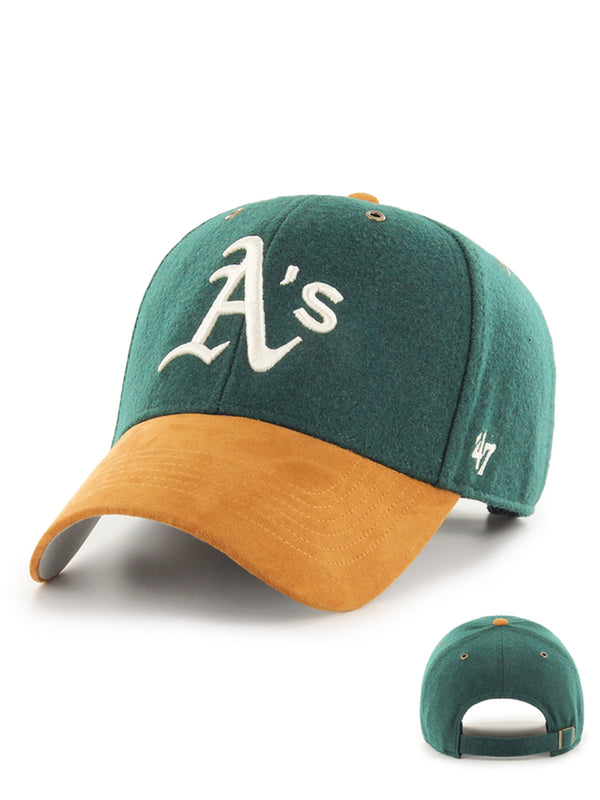 47 CASQUETTE MLB OAKLAND ATHLETICS WILLOWBROOK MVP VERT FONCE