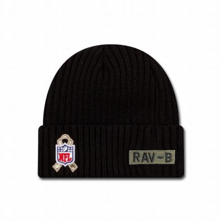 BONNET Baltimore Ravens - New Era Salute To Service