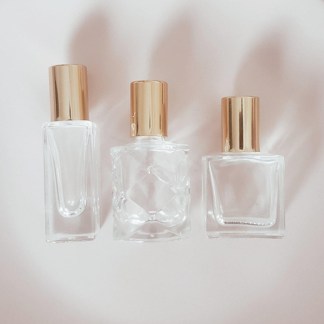Three essential oil roller bottles - The 'Kaori' Collection-The Vessel Collection-The Vessel Collection