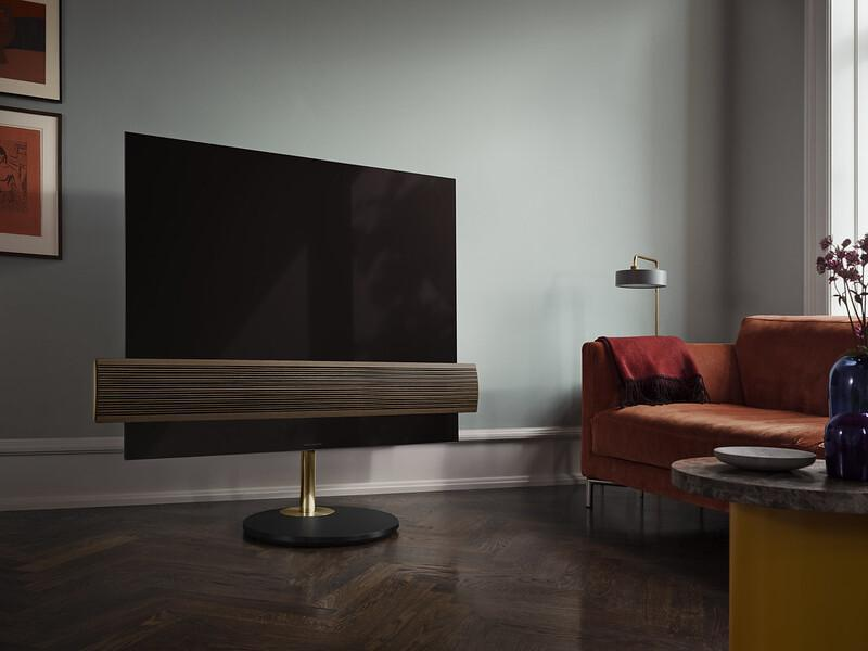 Beovision Eclipse OLED Brass Finish