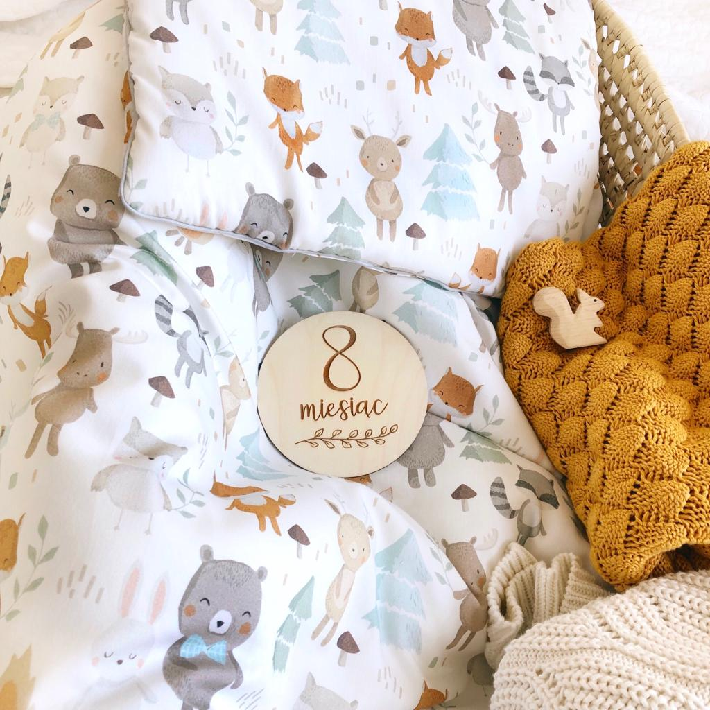 BEDDING SET WITH FILLING - WOODLAND-Bedding-Babyllama store
