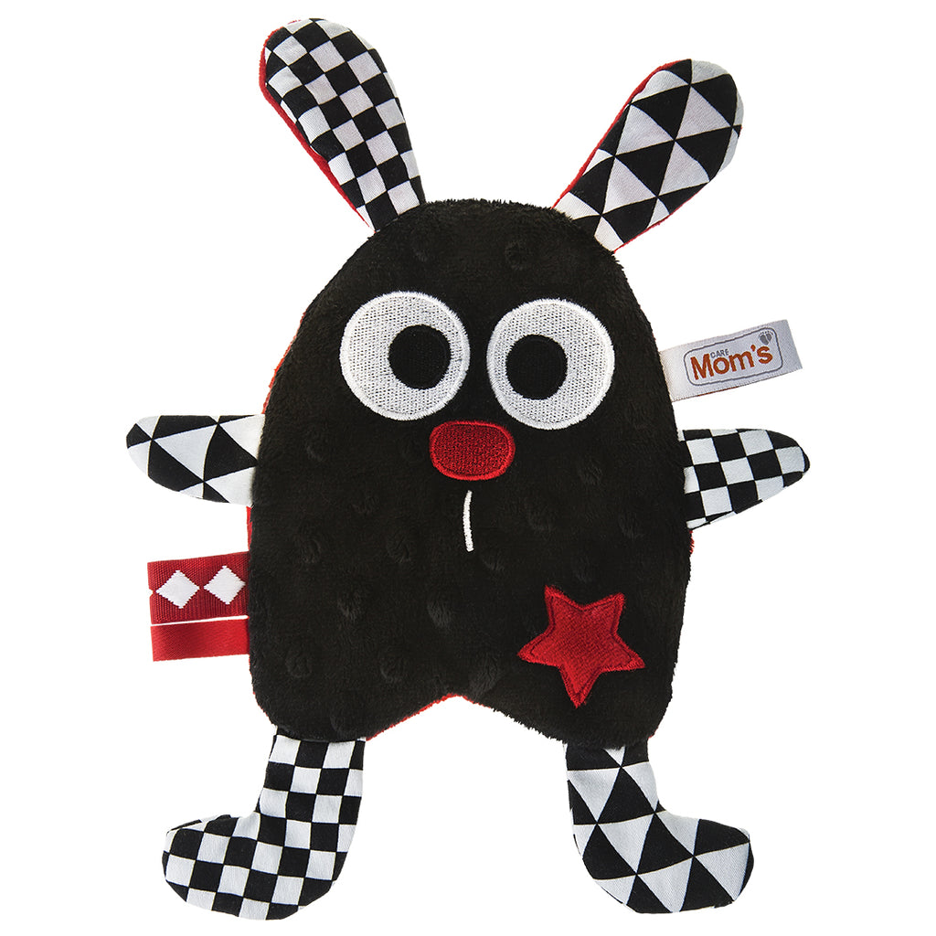 RUSTLY WITH STAR - BLACK-Sensory Toy-Babyllama store