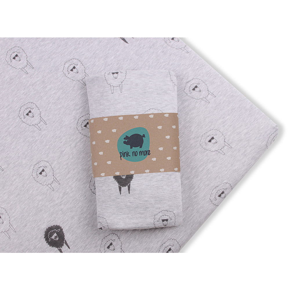 COT FITTED SHEET - SHEEPS-Sheet-Babyllama store