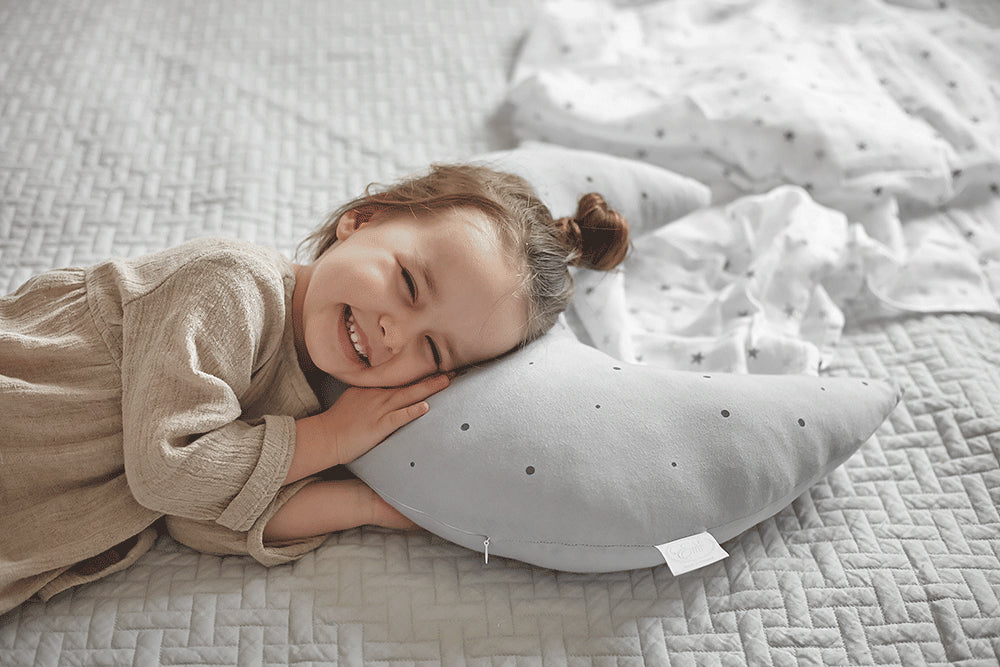 NURSING MOON PILLOW - GREY XXL-Pillow-Babyllama store