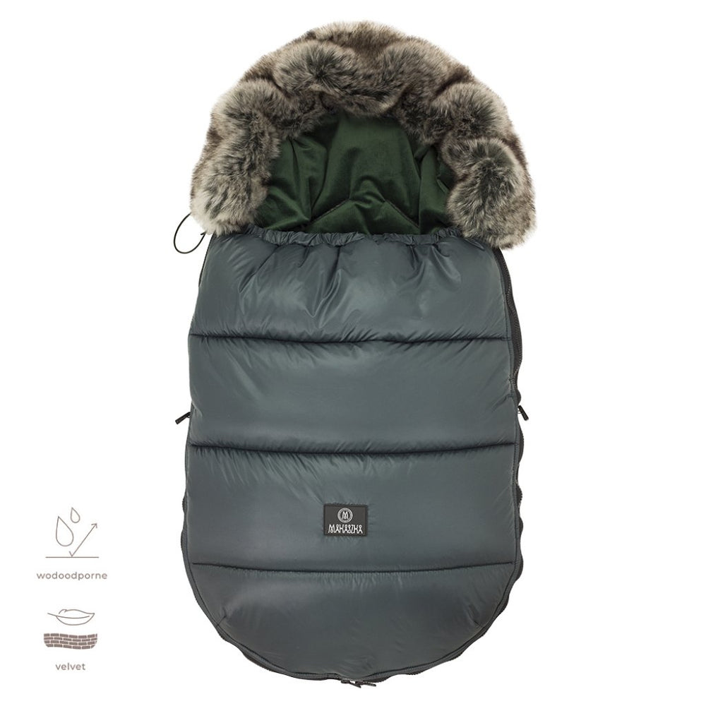 Premium Footmuff - Bottle Green