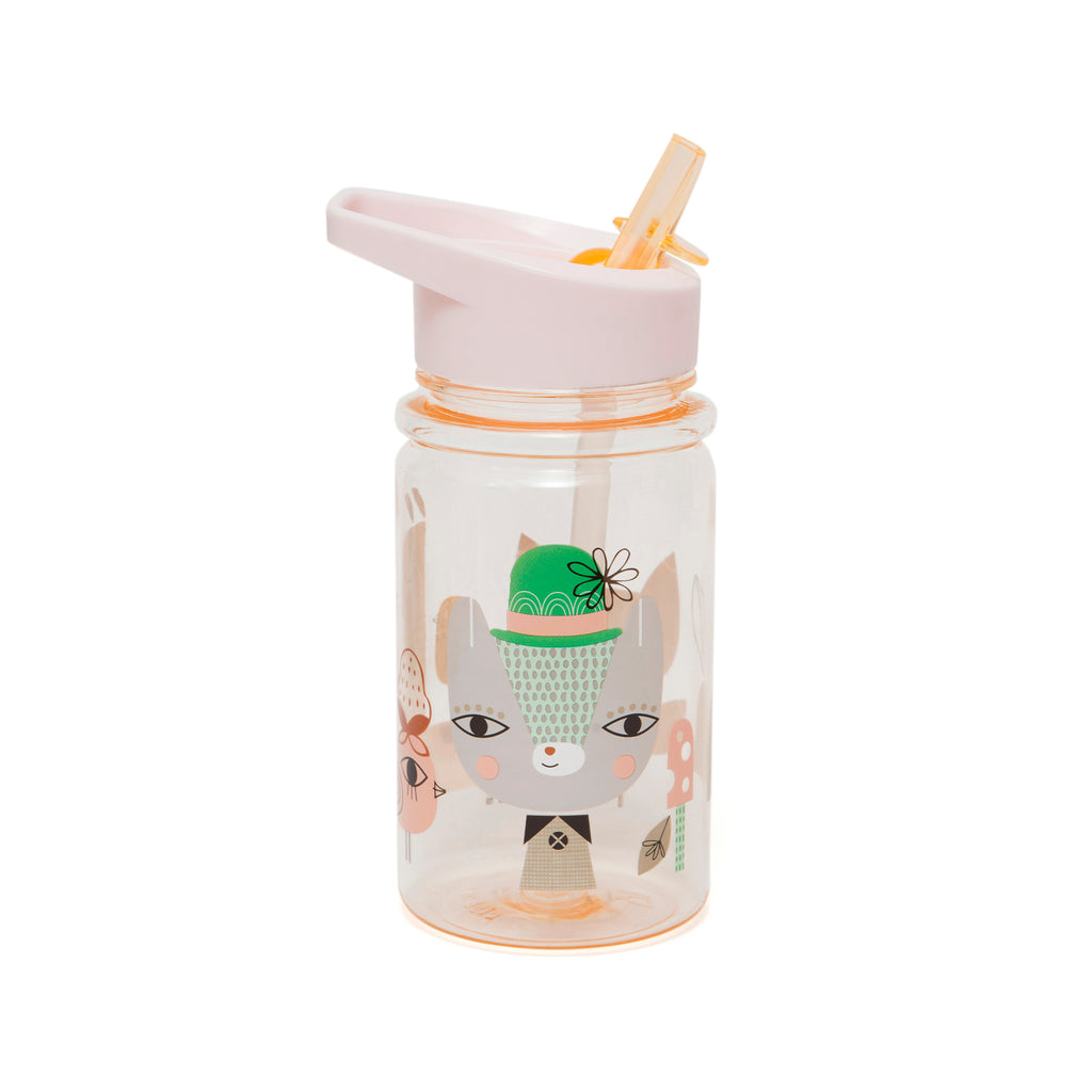 DRINKING BOTTLE - LAMA & FRIENDS PEACH-Drinking Bottle-Babyllama store