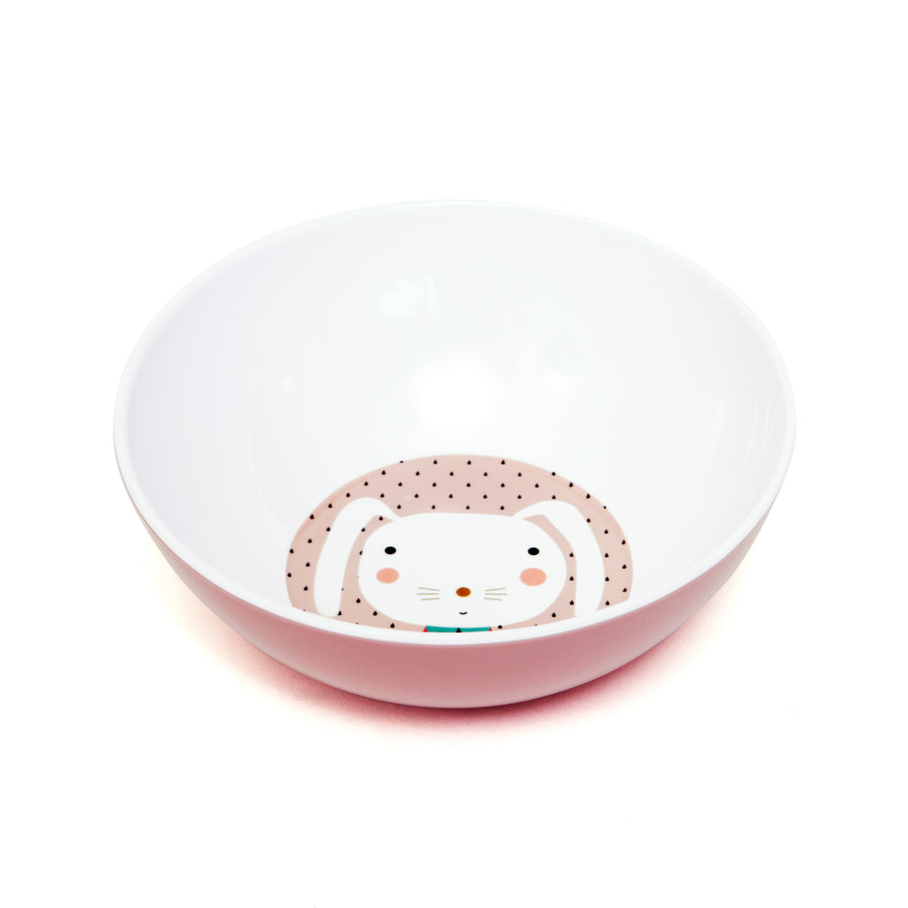 MELAMINE BOWL - RABBIT DROPS-Tableware-Babyllama store